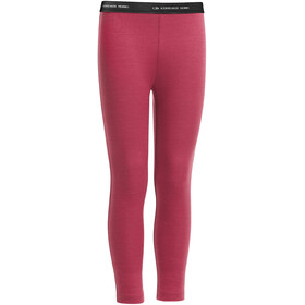 """Icebreaker Kids Compass Leggings Wild Rose"""